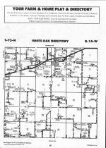Map Image 001, Mahaska County 1993